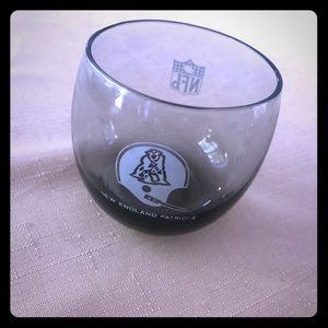 Other - Patriots glass/ votive holder, used fair condition
